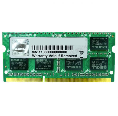 DDR3 LAPTOP GSKILL 4GB BUS 1333