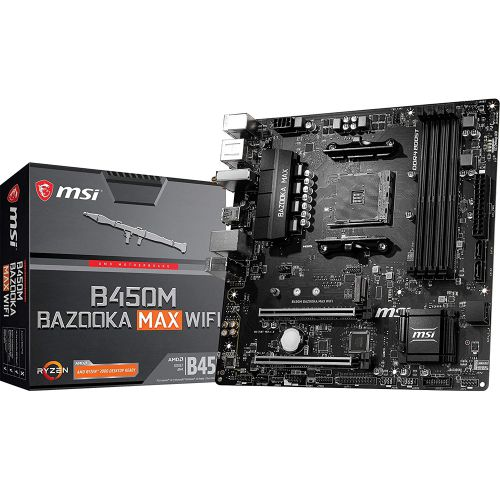 MSI B450M BAZOOKA MAX WIFI FULL BOX