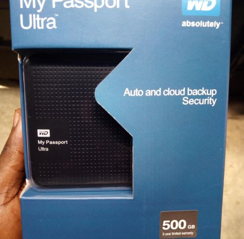 "Box WD 500GB MyPassport  2.5"" USB 3.0"