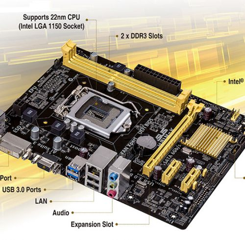 Mainboard ASUS H81 - MK Intel ® Socket 1150