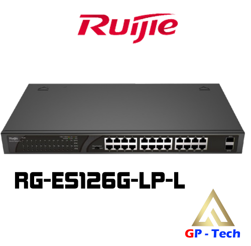 SWITCH POE 24 CỔNG RUIJIE RG-ES126G-LP-L